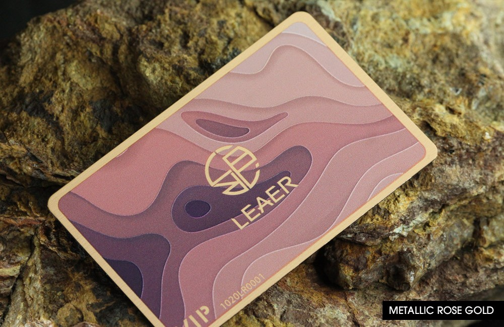 Discover our Metal Business Cards
